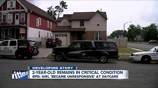 2-year-old remains in critical condition after being rescued from daycare - Video