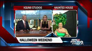 Erin Christiansen's 5PM FIRST WX LIVE HALLOWEEN Friday, October 27, 2017 - Video