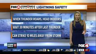 Lightning Safety Week - Video