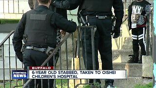 6-year-old stabbed, taken to hospital