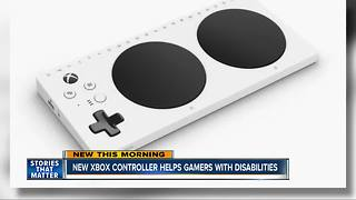 New Xbox controller for gamers with disabilities - Video