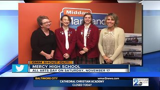 Good morning from Mercy High School! - Video