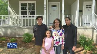 Habitat for Humanity dedicates homes after vandalism - Video