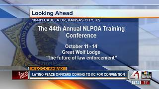 Latino peace officers coming to KC for convention - Video