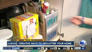 Creative ways to declutter your home - Video