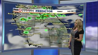 Rain Chances Decreasing - Video