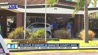 Hostage situation in Bradenton ends with suspect killed after shooting at SWAT members - Video
