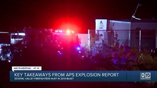New report reveals what caused APS battery explosion that hospitalized eight firefighters