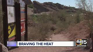 Braving the heat around the Valley - Video