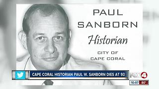 Cape Coral Historian Passes Away - Video