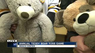 Annual Teddy Bear Toss - Video