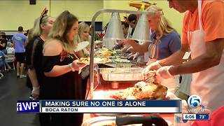 Jewish Community Center provides Thanksgiving meals, hospitality - Video