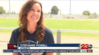 Local football player breaks stereotypes