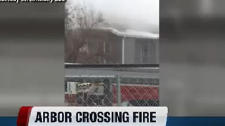 One dead in Boise apartment fire, firefighter injured - Video