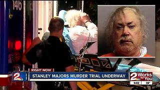 Stanley Majors trial - Video