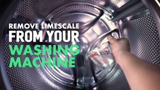Remove scale from your washing machine. - Video