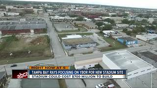 Tampa Bay Rays focusing on Ybor for new stadium site