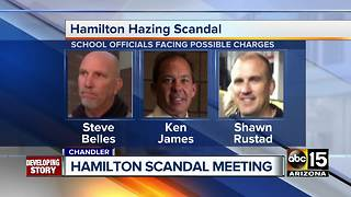 Parents meet at Hamilton to discuss Hamilton hazing scandal - Video