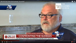 Former NRA Instructor Who Shot Texas Killer: 'I Am No Hero. I Think My God, My Lord Protected Me' Clip - Video