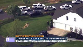 Owings Mills construction worker killed in Montgomery Co. murder-suicide - Video