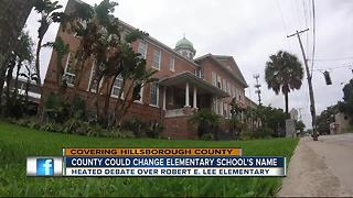 People want Robert E. Lee Elementary School name changed - Video