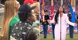 Jay-Z: I wasn't protesting when he and Beyonce sat during national anthem at Super Bowl