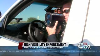 Extra officers ticketing speeding drivers in Oro Valley - Video