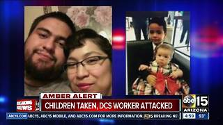 Amber Alert issued for two children abducted in Tucson - Video