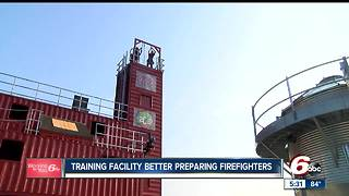 Bargersville training facility preparing firefighters for emergencies - Video