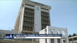MKE officials react to commission's directive on pursuit policy changes - Video