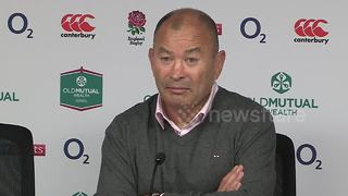 Eddie Jones reveals he is an Arsenal fan - Video
