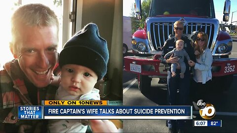 CAL FIRE Captain's wife talks about his suicide and her efforts to raise awareness