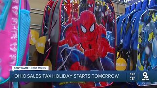 DWYM: Ohio sales tax holiday