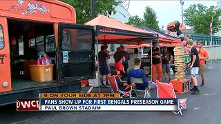 Counting down to the first preseason Bengals game - Video