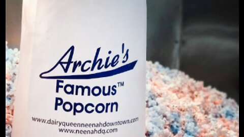 A patriotic popcorn you'll only get in Neenah