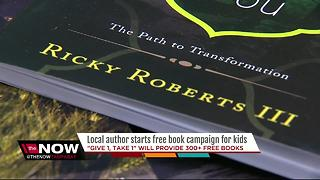 St. Pete author giving away hundreds of books to empower youth - Video