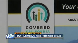 Healthcare premiums rising for some San Diegans - Video