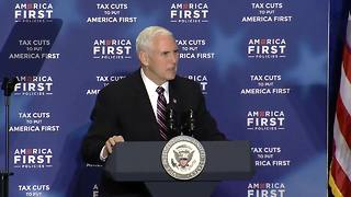 Vice President Pence remarks on border safety - Video