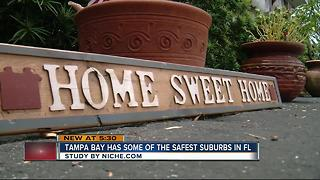 Study: More than a dozen Bay suburbs listed as the safest in Florida - Video