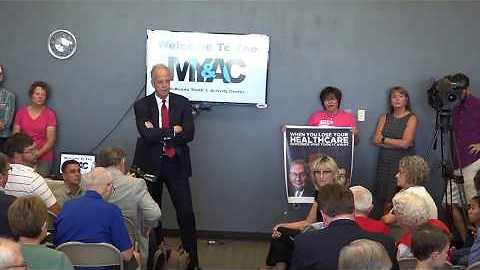 Republican Stalwart Jerry Moran Speaks Against Healthcare Bill at Town Hall in Palco