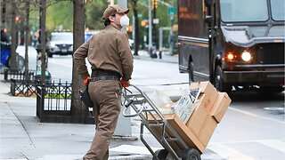 UPS Delivers More Packages During Coronavirus Pandemic