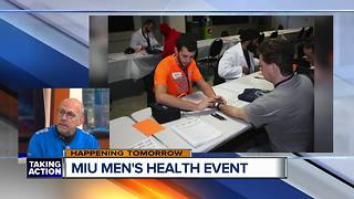 Seventh annual MIU men's health event - Video
