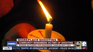 Prayer vigil held after 5 shot, 3 dead in business park shooting