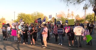 Trump supporters, Nevada GOP protest Gov. Sisolak's attempts to 'shut down' events