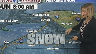 Autumns snow update 7 First Alert Forecast for November 17th for 7 Eyewitness News at Noon