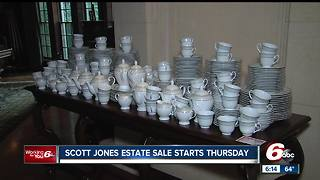 Scott Jones estate sale has something for everyone at all prices - Video