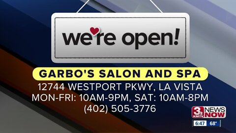 We're Open Omaha: Garbo's Salon and Spa