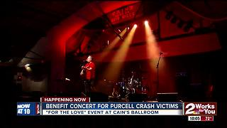 Benefit concert at Cain's draws hundreds - Video