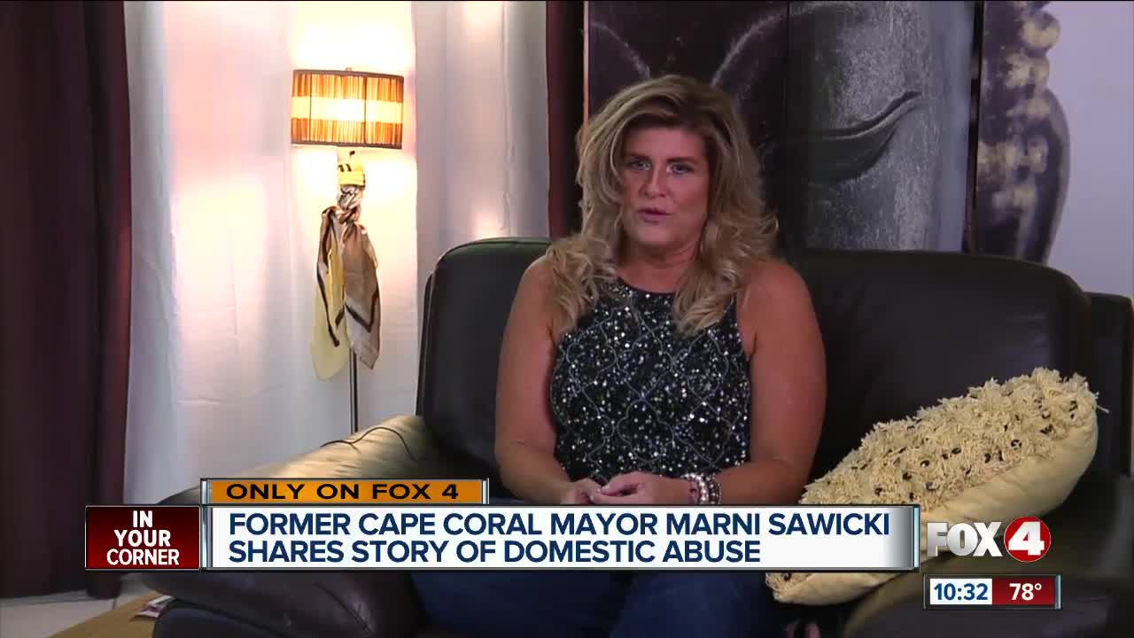 Former mayor speaks out on domestic violence Cape Coral