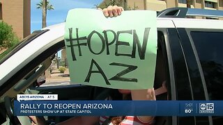 Rally to reopen Arizona at State Capitol